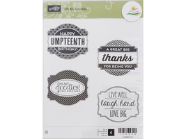 Stampin' Up! Oh My Goodies Rubber Stamp Set #134090