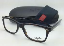 New RAY-BAN Eyeglasses HIGHSTREET RB 5228 2012 53-17 Dark Havana Tortoise Frames