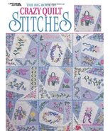 The Big Book Of Crazy Quilt Stitches  (Leisure Arts #1872) Patricia Eaton - $10.44