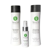 RevuCell Organics Hair Growth Treatment Kit - for Men & Women - Includes... - $127.71