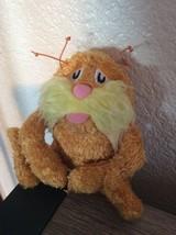 "Dr Seuss The Lorax Plush Stuffed Mini 6"" Plush Manhattan Toy 2012 Doll - $8.86"