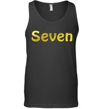 Kids 7th Birthday Tank Top for Boys Girls Gifts - $23.99+