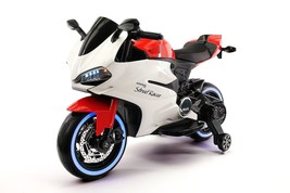 2017 DUCATI RACER STYLE Kids Ride On Car Toy Motorcycle 12V Battery Powe... - $349.99