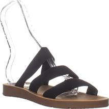 Steve Madden Pascale Slide Sandals, Black, 10 US - $32.63