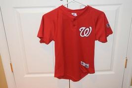 Washington Nationals Youth Medium Red Jersey MLB Baseball Russell Athlet... - $16.11