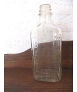 Duraglas glass 6ounce measuring medical Illinois bottle - $19.00