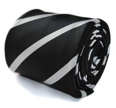 Frederick Thomas noir et blanc CLUB Cravate lignée homme ft753 - $24.38