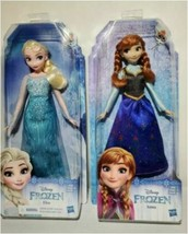 Frozen Disney Classic Fashion Elsa And Anna Dolls GET BOTH w/ fast free shipping - $31.96