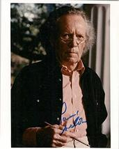 Patrick McGoohan (d. 2009) Signed Autographed Glossy 8x10 Photo - COA Matching H - $148.49
