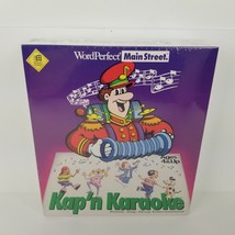New in Pkg 1994 WordPerfect Main Street Kap'n Karaoke Sing Along Enterta... - $18.99