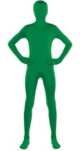 "Green Morph Party Suit Full Body Costume Teen Small up to 4' 5"" - $28.01"