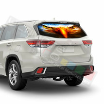 Eagles Decal Window See Thru Stickers Perforated for Toyota Highlander 2... - $59.80