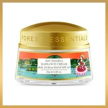 Forest Essential SOUNDARYA RADIANCE CREAM WITH 24K GOLD & SPF25 - 50gms - $120.00
