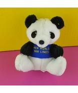 "Dakin Plush Panda New World Van Lines Stuffed Animal Bear 6""  - $20.79"