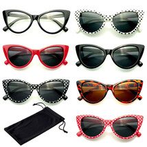Classic Cat Eye Sunglasses Small Retro Vintage Women Fashion Shades Eyewear - $4.46+
