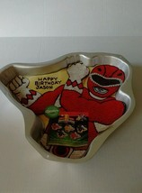 Wilton Power Rangers Cake Pan New1994 Decorating Instructions 2105-5975 - $710,38 MXN