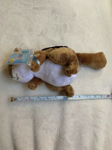 "Ganz Webkinz 9"" Chimpmunk Plush stuffed toy HM217. B2 Used nice Kids Doll Toy image 12"