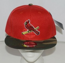 Evergreen Headwear Headcoverz St Louis Cardinals Camo Baseball Cap Snapback image 1