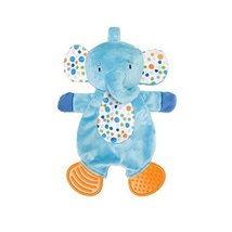 Manhattan Toy Teether Elephant Soft Snuggle Blankie Toy - $11.99