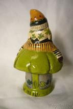 Vaillancourt Folk Art, Lucky Leprechaun on Shamrock Signed by Judi Vaillancourt image 2