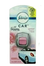 FEBREZE Car Vent Clip AIR FRESHENER with April Fresh DOWNY Scent - $6.92