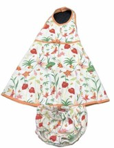 Gymboree Halter Dress Hawaiian Summer Floral Retired W/bloomers Sz 18-24 Months - $42.56
