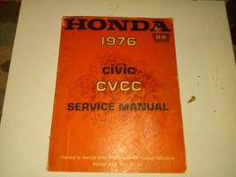 1976 Honda CVCC Factory manual - $20.00