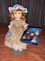 Vintage 1983 Ideal CINDERELLA Vinyl Doll Nursery Tales Collector Series ... - $6.43