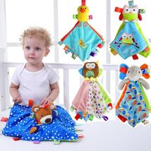 JJOVCE Baby Security Blanket Toys Soft Bedtime Soother Baby Plush Toys C... - $24.00+