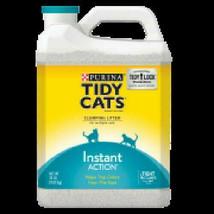 Purina Tidy Cats Instant Action Clumping Cat Litter, 20-lb Jug - $22.99