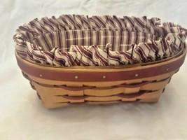 Longaberger Sweetheart Be Mine Basket Combo Vintage Collectible 1994 - $24.18