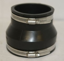 Fernco P105643 Four By Three Inch Flexible Drain Coupling image 2