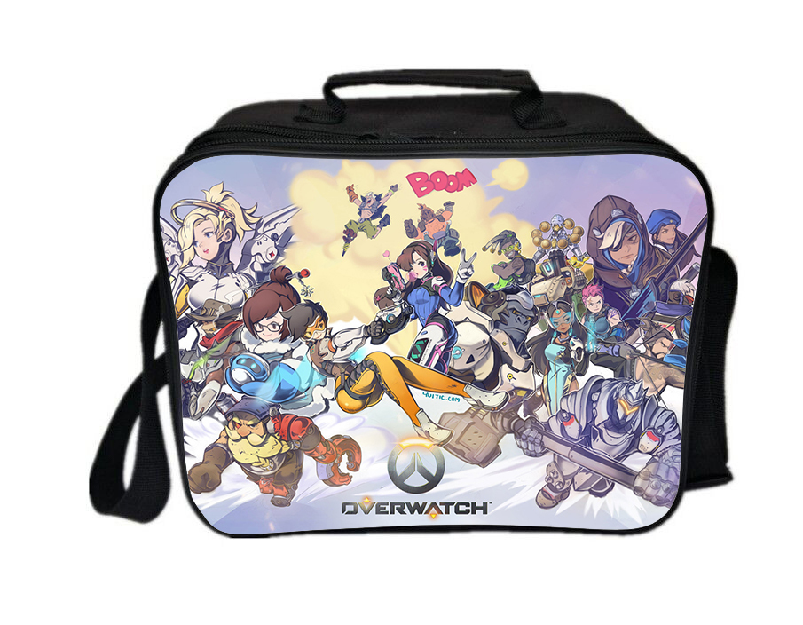 Overwatch lunch box summer series lunch bag family boom