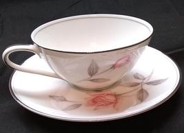Noritake China Tea Cup Set - Rosemarie 6044 Edition -  Made in Japan - $19.99