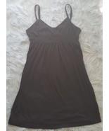 Freestyle Sun Dress Womens Size M Black Spaghetti Strap Sleeveless Summe... - $8.59