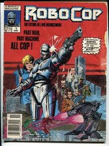 Robocop #1 1987 Marvel Magazine Comic book First issue - $31.53