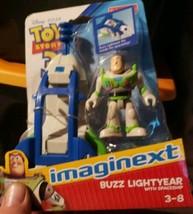 NIB Imaginext TOY STORY 3 BUZZ LIGHTYEAR With SPACESHIP - $42.99