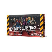 Zombicide Box of Zombies 1 Ultimate Survivors Board Game - $28.90