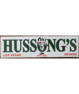 HUSSONG'S Las Vegas, Nevada Sticker, New - $4.95