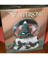 Winter Song Musical Water Globe - $9.49