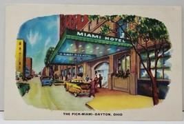 Dayton Ohio, The Pick-Miami Hotel Postcard D16 - $9.98