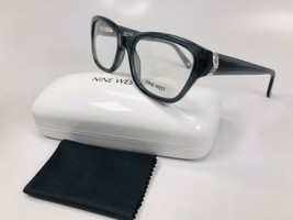 New Nine West NW5115 029 Crystal Slate Eyeglasses 52mm with Case & Cloth - $44.50