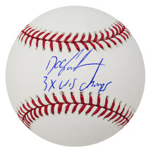 Dwight 'Doc' Gooden Signed Official MLB Baseball w/3x WS Champs - $89.00