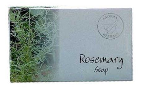 3 bars of 100g Rosemary soap