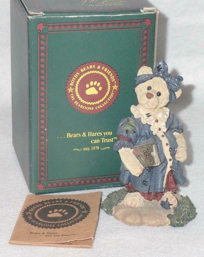 Boyd Bearstone Resin Bears Momma McBear Anticipation Figurine #2282 31E image 3