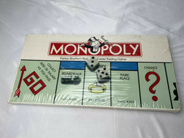 Vintage 1985 Monopoly Board Game Parker Brothers No.9 NEW - SEALED Vtg Rare - $49.49