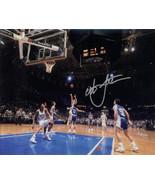 Christian Laettner signed Duke Blue Devils Horizontal Metallic 8x10 Phot... - $49.95