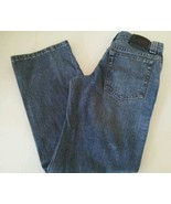 LEE Boys Kids Jeans Pants Adjustable Waist Medium Wash Denim Size 14 ~ F... - $20.99