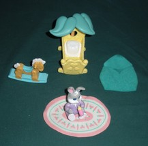 Vtg. Fisher Price Hideaway Hollow #74730 Baby's Nursery Set Comp//NEAR M... - $16.99
