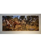 Manifest Destiny Craig Tennant Native American Pinto Art Story Painting ... - $98.99